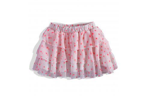 Dívčí šifonová sukně DIRKJE HVĚZDY růžová Velikost: 92 Šaty, sukně