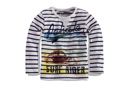 Dětské triko s dlouhým rukávem DIRKJE Velikost: 92 Trička a košile