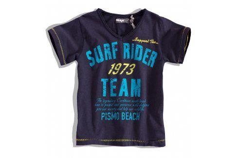 Chlapecké tričko krátký rukáv DIRKJE SURF RIDER tmavě modré Velikost: 92 Trička a košile