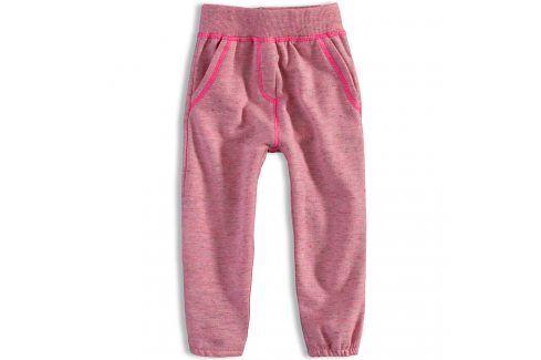Dívčí tepláky DIRKJE PINKY růžové Velikost: 92 Dětské kalhoty