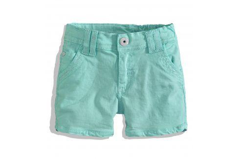Dívčí kraťasy PEBBLESTONE zelené Velikost: 92-98 Dětské šortky