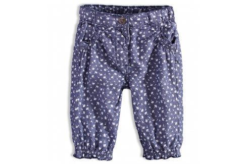 Kojenecké capri kalhoty PEBBLESTONE FLOWERS Velikost: 68 Kojenecké kalhoty a šortky