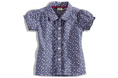 Kojenecká dívčí halenka PEBBLESTONE Velikost: 68 Kojenecká trička a košilky