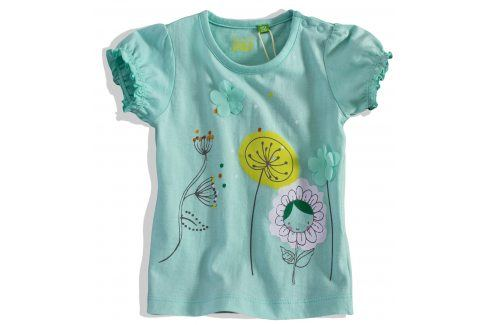 Dívčí tričko krátký rukáv PEBBLESTONE Velikost: 68 Kojenecká trička a košilky