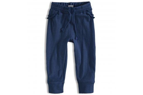 Dívčí tepláčky PEBBLESTONE modré Velikost: 68 Kojenecké kalhoty a šortky