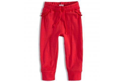 Dívčí tepláčky PEBBLESTONE červené Velikost: 68 Kojenecké kalhoty a šortky