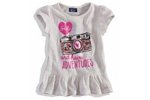 Dětské tričko krátký rukáv Minoti bílé Velikost: 80-86 Kojenecká trička a košilky