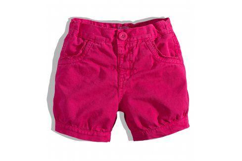 Kojenecké dívčí šortky Minoti růžové Velikost: 80-86 Kojenecké kalhoty a šortky