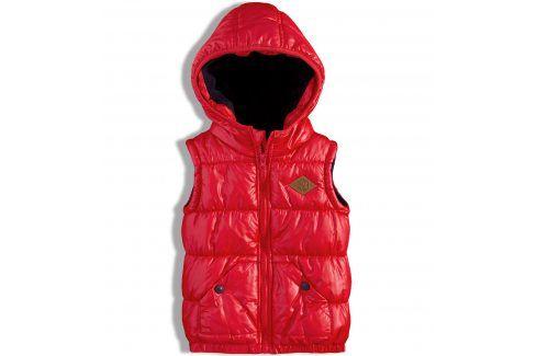 Dětská vesta MINOTI BAY červená Velikost: 98-104 Kombinézy, saka, vesty