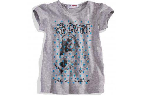 Dívčí tričko s krátkým rukávem Minoti Velikost: 98-104 Trička a košile