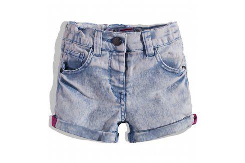 Dívčí džínové šortky MINOTI Velikost: 74-80 Kojenecké kalhoty a šortky