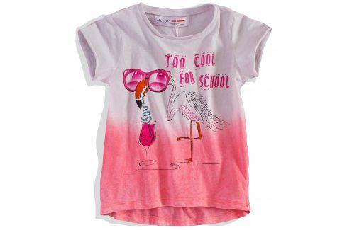 Dívčí tričko Minoti krátký rukáv Velikost: 74-80 Kojenecká trička a košilky