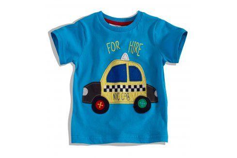 Dětské tričko s krátkým rukávem MINOTI BUS Velikost: 74-80 Kojenecká trička a košilky