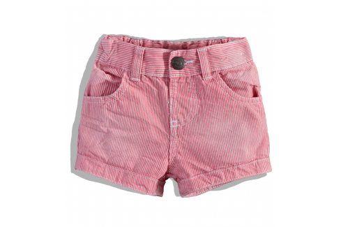 Dívčí šortky MINOTI CORAL Velikost: 74-80 Kojenecké kalhoty a šortky