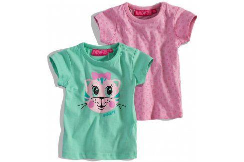 Kojenecké tričko Knot So Bad balení 2ks Velikost: 62 Kojenecká trička a košilky