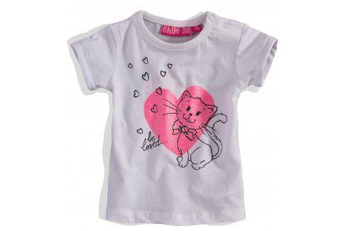 Kojenecké dívčí tričko KNOT SO BAD Velikost: 62 Kojenecká trička a košilky