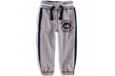 Kojenecké tepláky MINOTI DETROIT šedé Velikost: 74-80 Kojenecké kalhoty a šortky
