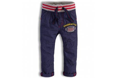 Kojenecké kalhoty Minoti DETROIT modré Velikost: 74-80 Kojenecké kalhoty a šortky