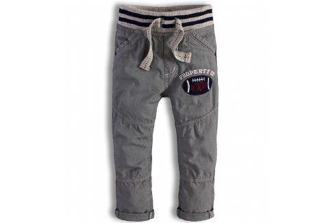 Kojenecké kalhoty Minoti DETROIT šedé Velikost: 74-80 Kojenecké kalhoty a šortky