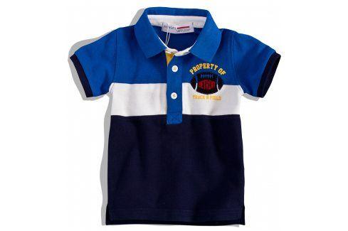 Chlapecká polokošile Minoti DETROIT modrá Velikost: 74-80 Kojenecká trička a košilky