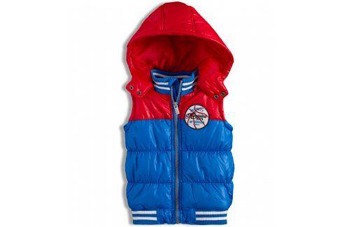 Kojenecká chlapecká vesta MINOTI červená Velikost: 74-80 Kojenecké kabátky, bundy a vesty