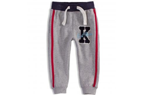 Dětské tepláky MINOTI EAST šedé Velikost: 86-92 Dětské kalhoty