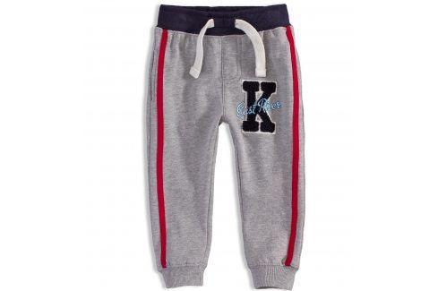 Kojenecké tepláky MINOTI EAST šedé Velikost: 74-80 Kojenecké kalhoty a šortky