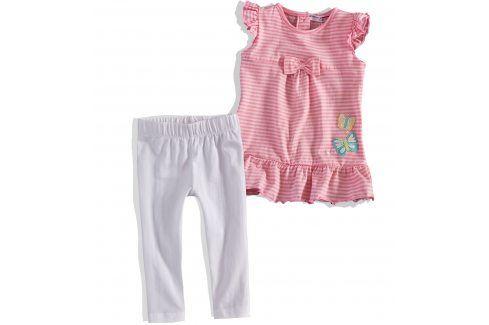 Kojenecký dívčí letní komplet Minoti růžový Velikost: 74-80 Kojenecké soupravy