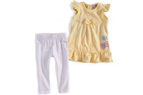 Kojenecký dívčí letní komplet Minoti žlutý Velikost: 74-80 Kojenecké soupravy