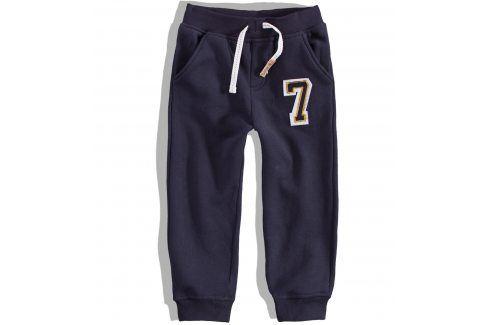 Kojenecké tepláky Minoti FOOTY modré Velikost: 80-86 Kojenecké kalhoty a šortky