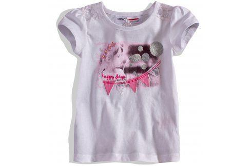 Dívčí tričko s krátkými rukávy Minoti Velikost: 74-80