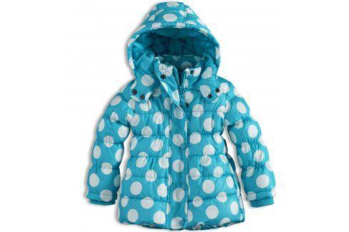 Dívčí zimní bunda MINOTI GLITTER modrá Velikost: 86-92 Dětské bundy a kabáty