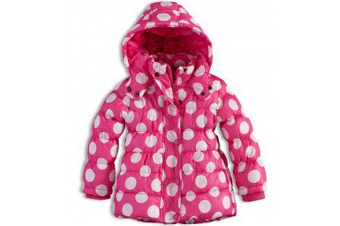 Dívčí zimní bunda MINOTI GLITTER růžová Velikost: 74-80 Kojenecké kabátky, bundy a vesty