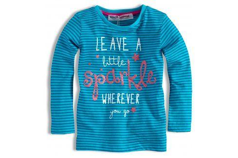 Dívčí triko MINOTI GLITTER Velikost: 74-80 Kojenecká trička a košilky