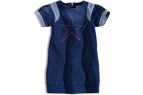 Kojenecké dívčí šaty MINOTI GLITTER Velikost: 74-80 Kojenecké šatičky a sukně