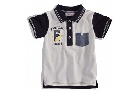 Dětské tričko polo MINOTI Velikost: 98-104 Trička a košile