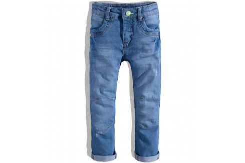 Chlapecké rifle Minoti NEWPORT modré Velikost: 98-104 Dětské kalhoty
