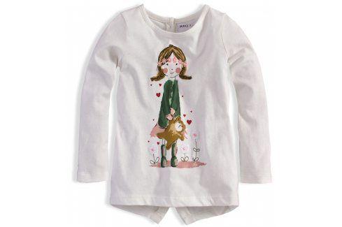 Dívčí triko MINOTI PRETTY Velikost: 74-80 Kojenecká trička a košilky