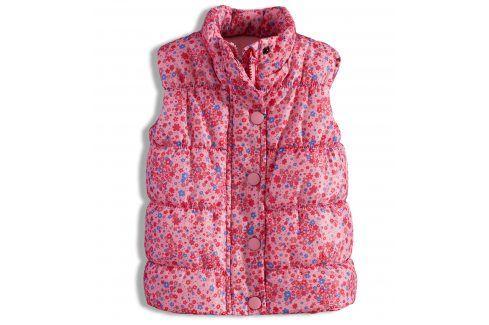 Dívčí vesta MINOTI PRETTY Velikost: 86-92 Dětské bundy a kabáty