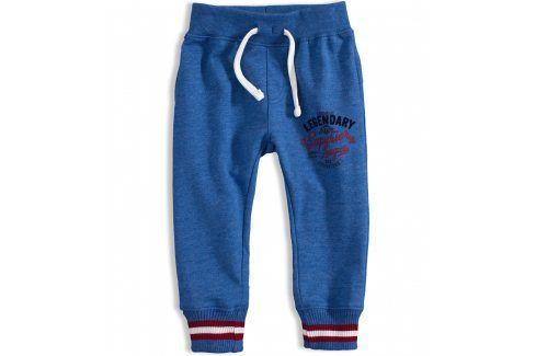 Kojenecké tepláky MINOTI RACE modré Velikost: 74-80 Kojenecké kalhoty a šortky