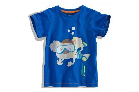 Dětské tričko krátký rukáv Minoti SCUBA modré Velikost: 80-86 Kojenecká trička a košilky