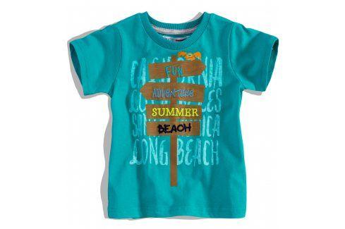 Dětské tričko krátký rukáv Minoti Velikost: 74-80 Kojenecká trička a košilky