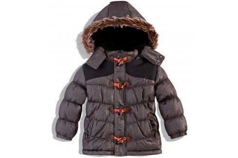 Dětská zimní bunda Minoti SUPPLY šedá Velikost: 86-92 Dětské bundy a kabáty