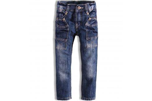 Chlapecké džíny Dirkje DENIM tmavě modré Velikost: 92 Dětské kalhoty