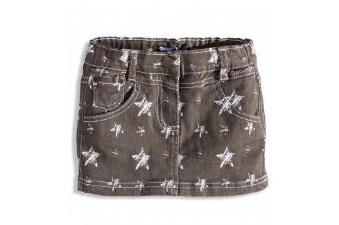 Dívčí džínová sukně DIRKJE TROPICAL STAR šedá Velikost: 92 Šaty, sukně