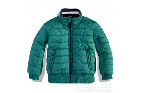 Dětská zimní bunda DIRKJE CASUAL zelená petrol Velikost: 68 Kojenecké kabátky, bundy a vesty