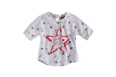 Dívčí tričko DIRKJE STAR DANCE bílé Velikost: 92 Trička a košile