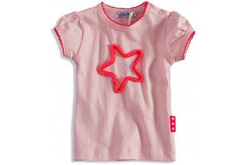 Dívčí tričko Dirkje PINKY STAR světle růžové Velikost: 92 Trička a košile