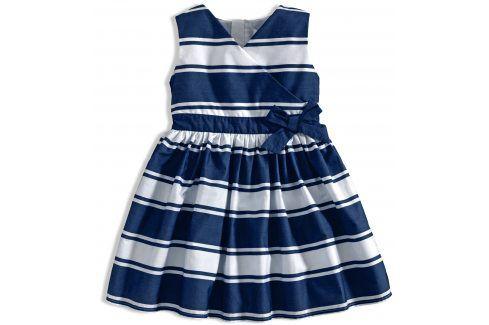 Dívčí šaty MINOTI RIVIERA proužek modré Velikost: 92
