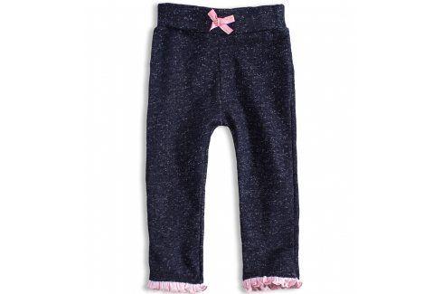 Kojenecké dívčí tepláčky DIRKJE LITTLE LADY růžové Velikost: 56